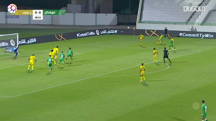 Highlights: Khorfakkan 1-2 Ittihad Kalba