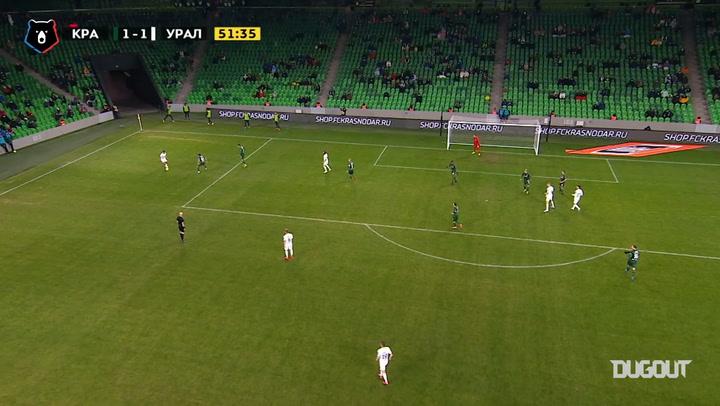 Rafał Augustyniak's brace against Krasnodar