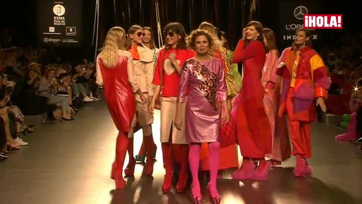 Fashion Week Madrid otoño-invierno 2016-2017: Agatha Ruiz de la Prada