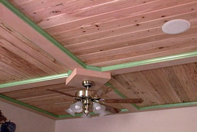 How To Put Up A Wood Ceiling Using Tongue And Groove Planks Ron Hazelton