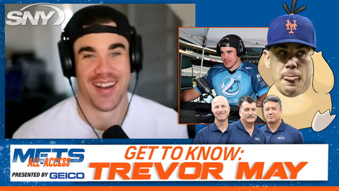 Trevor May does his best GKR impression, explains how he got into video games | Mets All-Access
