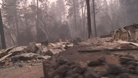 Incendio forestal de California ya es el más mortal del estado
