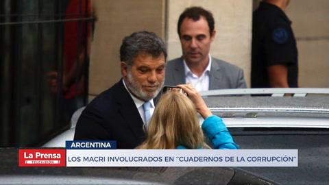 Los Macri involucrados en ''cuadernos de la corrupción''