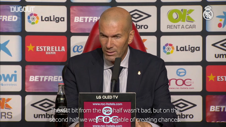 Zidane, Marcelo and Courtois speak after Mallorca match