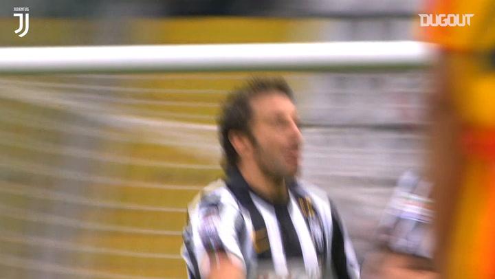 Del Piero, Juventus'taki En Çok Gol Atma Rekorunu Egale Ediyor