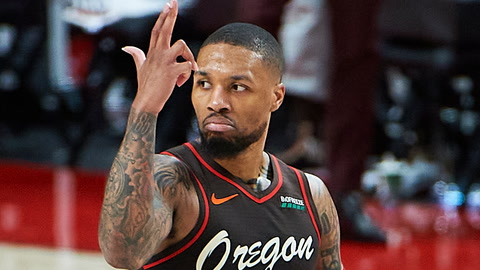 Should Knicks pull the trigger and offer RJ Barrett, Obi Toppin and Immanuel Quickley for Damian Lillard? | SportsNite