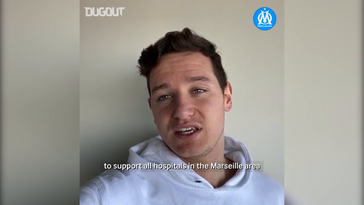 Florian Thauvin's message to help hospitals during the quarantine