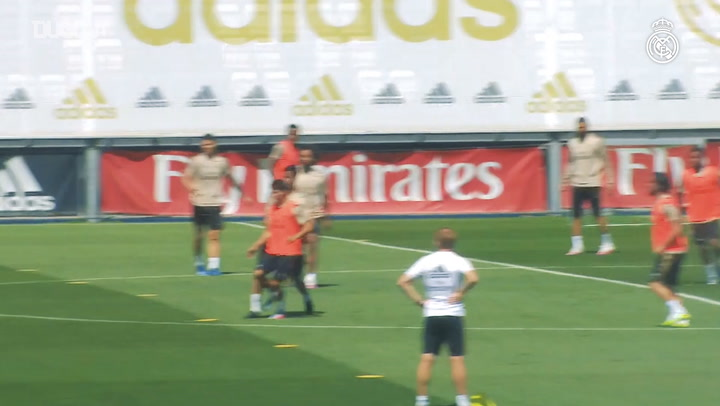 Real Madrid begin preparations for Eibar clash