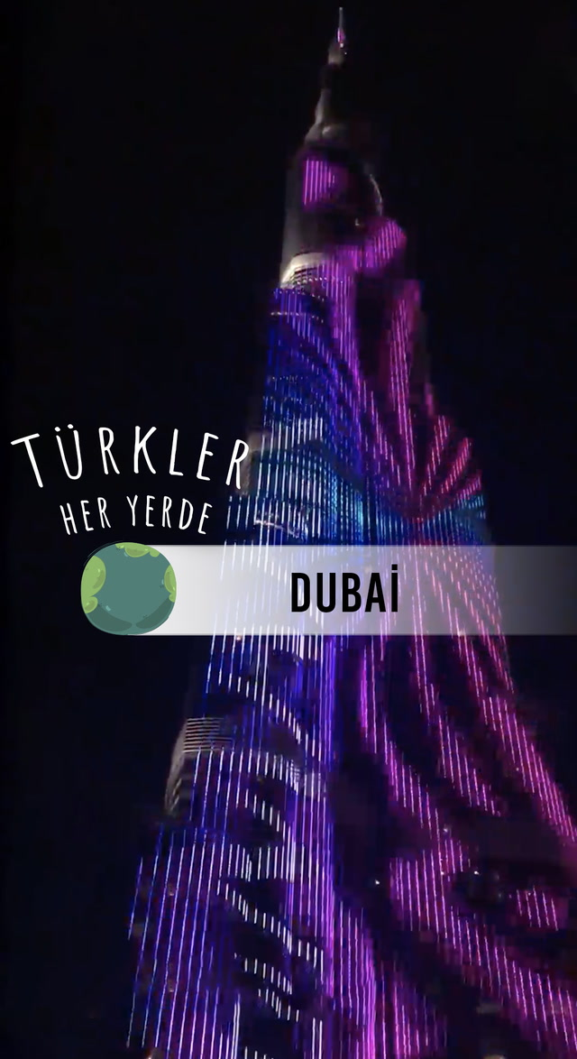 Türkler Her Yerde - Dubai - Işıltılı meydanlar