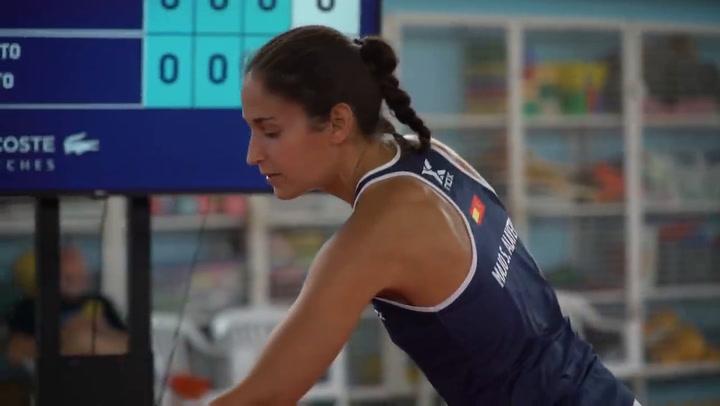 Resumen cuartos de final femeninos (segundo turno) Estrella Damm Menorca Open