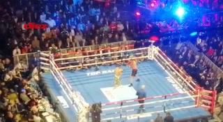 Así se vivió la pelea de Teófimo López desde el Madison Square Garden