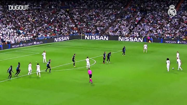أهداف ريال مدريد في دوري أبطال أوروبا موسم ٢٠١٩-٢٠٢٠