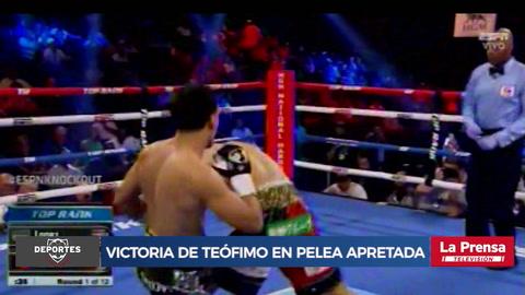 Teófimo López derrota al japonés Masayoshi Nakatani en apretada pelea