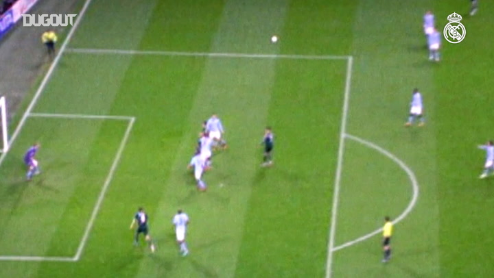Benzema's goal in Manchester