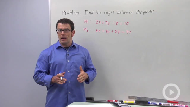 The Angle Between Planes - Problem 2