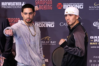 Garcia: 'I'm in this business to be a world champion'