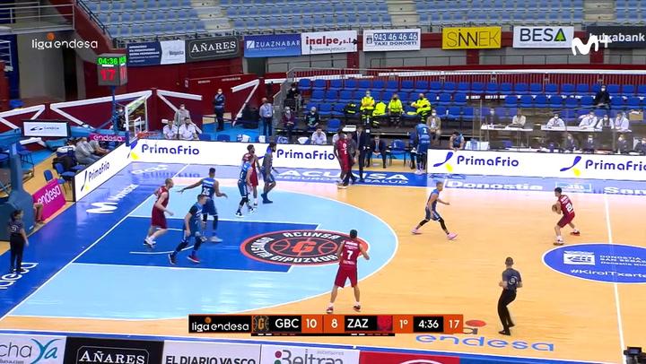 Acunsa Gipuzkoa Basket - Casademont Zaragoza (70-67)