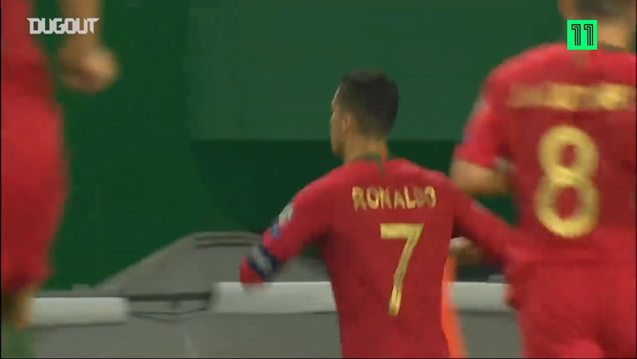 Cristiano Ronaldo scores 699th career goal vs Luxembourg