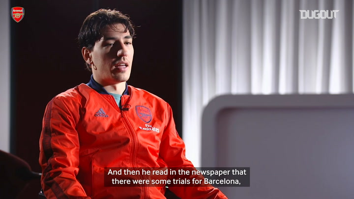 Héctor Bellerín on his time at La Masia