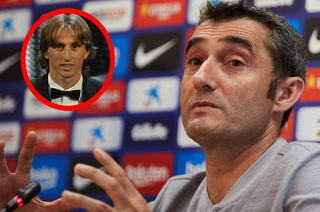 Valverde sobre The Best: