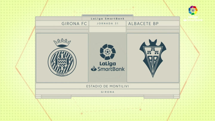 LaLiga SmartBank (J31): Resumen y goles del Girona 1-1 Albacete
