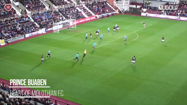 Prince Buaben's Best Goals For Hearts