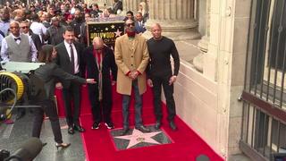 Rapero Snoop Dogg ya tiene su estrella en el Paseo de la Fama