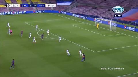 Gol de Lionel Messi al Napoli (Champions League 2020)