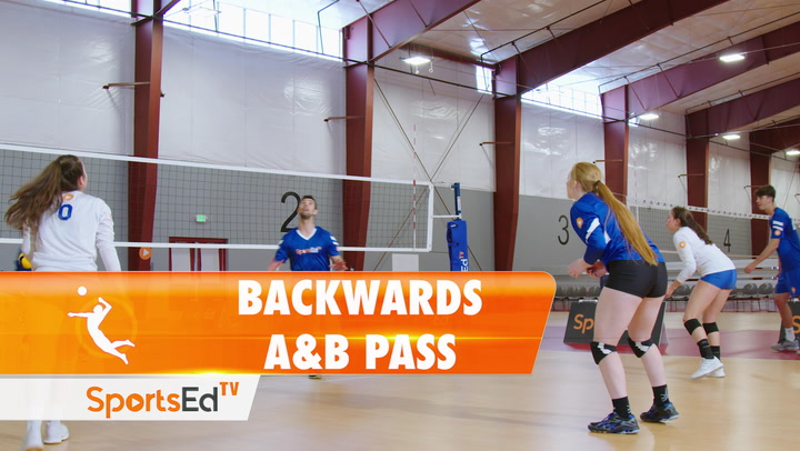 BACKWARDS A & B PASS