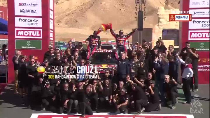 Carlos Sainz campeón del Dakar 2020