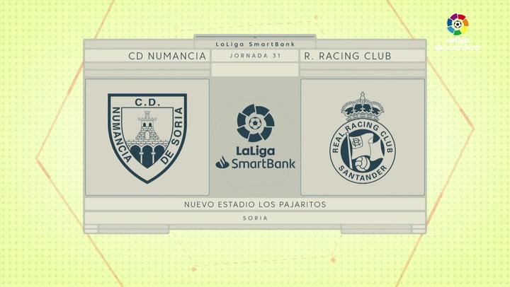 LaLiga SmartBank (J31): Resumen y goles del Numancia 1-2 Racing