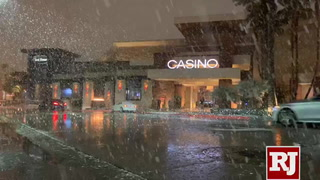 Snow in Las Vegas at Red Rock Casino Resort