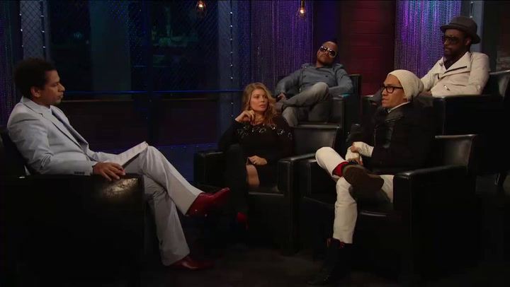 Shows: On The Record: Predicting the Future - Black Eyed Peas On The Record Exclusive