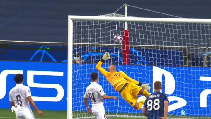 Champions League Atalanta-PSG. Gol de Pasalic (1-0)