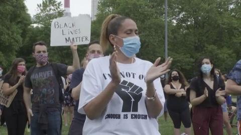 Continúan protestas por muerte de George Floyd en EEUU