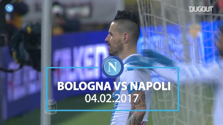 Napoli thrash Bologna 7-1
