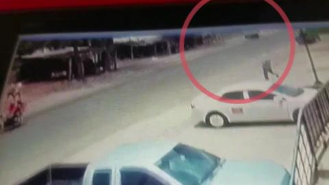 Video del menor que murió atropellado en carretera a Jamastrán