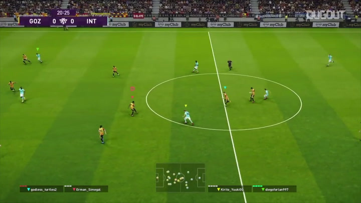 Göztepe Gaming Menghadapi Inter Qlash Di Piala Persahabatan Eropa PES