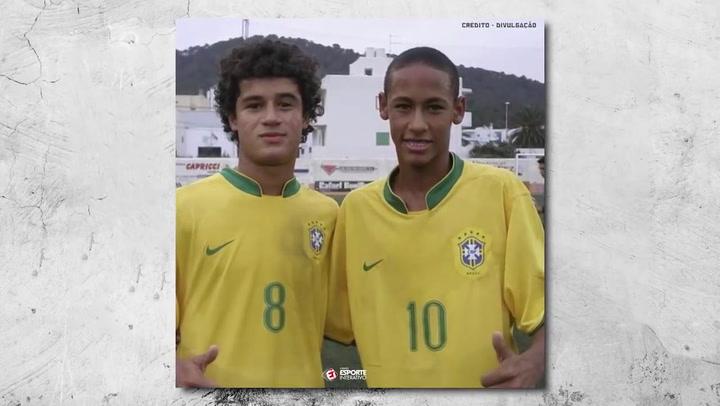 """Coutinho: """"Sería bonito jugar al lado de Neymar en Europa"""""""