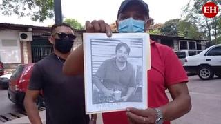 Familiares piden ayuda para continuar la búsqueda de mecánico desaparecido
