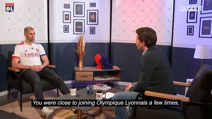"Islam Slimani : ""It's an honour to play for a club like Olympique Lyonnais"""