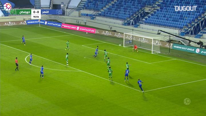 AGL Matchday 15 highlights: Al-Nasr 2-1 Khorfakkan