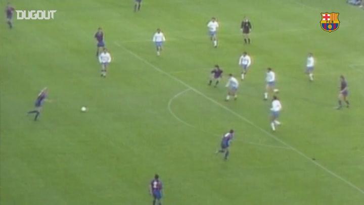 The best goals scored by Johan Cruyff's 'dream team'