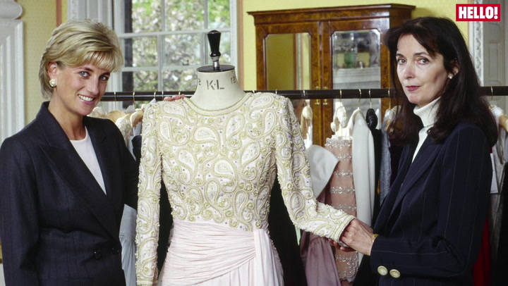 Catherine Walker celebrates their 40th anniversary with Princess Diana\'s iconic dresses
