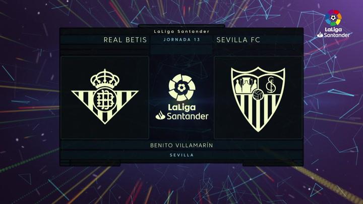 LaLiga Santander (J13): Resumen y goles del Betis 1-2 Sevilla