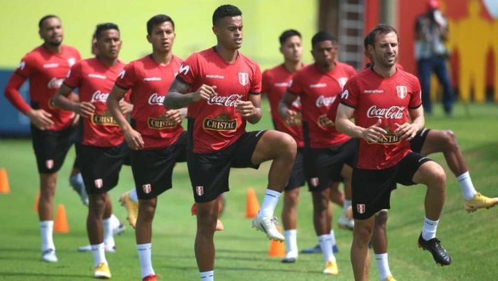 Selección peruana termina primer microciclo del 2021
