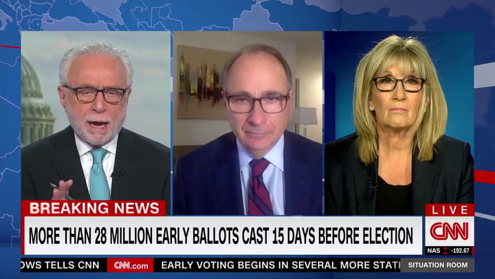 CNN's Axelrod: Trump Campaign Strategy 'Insane'-- 'Landslide' Loss Likely