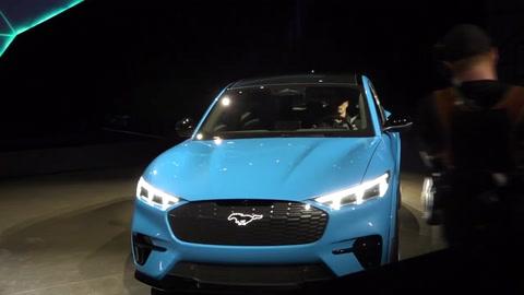 Ford lanza un imponente y hermoso Mustang eléctrico