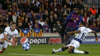Tottenham empata 1 - 1 ante Barcelona y clasifiaca a octavos de final