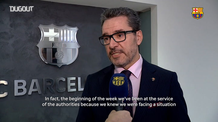 How the quarantine is affecting FC Barcelona
